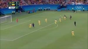 سوئد ۲ - ۲ کلمبیا ( المپیک ریو ۲۰۱۶ )