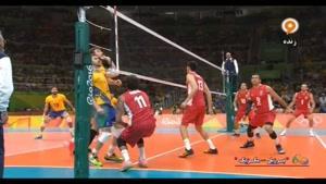 مسابقه والیبال برزیل و مکزیک - المپیک ریو ۲۰۱۶