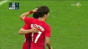 کره جنوبی ۸ - ۰ فیجی ( المپیک ریو ۲۰۱۶ )