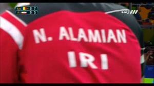 بازی پینگ پنگ رومانی و ایران با برتری رومانی - نیما عالمیان