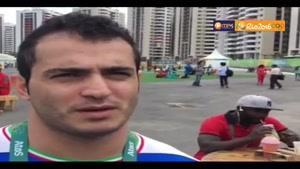 آمادگی سهراب مرادی برای رقابت سنگین در المپیک