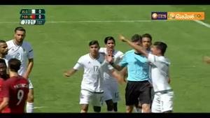 لحظات برگزیده رقابت پرتغال و الجزیره