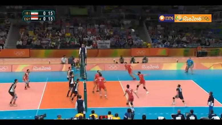 خلاصه والیبال ایران ۳-۰ مصر