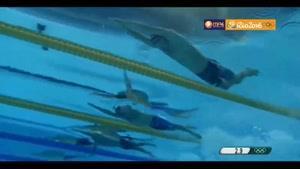 اولین مدال طلای فلپس در شنای ۴ در صد متر