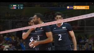 خلاصه والیبال ایران ۳-۰ کوبا