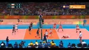 خلاصه والیبال ایران ۲-۳ لهستان