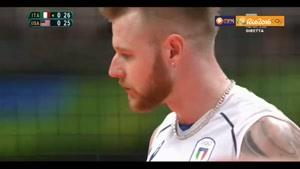 خلاصه والیبال ایتالیا ۳-۱ آمریکا