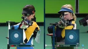 کسب مدال طلا و نقره و برنز در تفنگ بادی ۱۰ متر