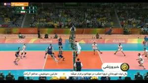 بررسی عملکرد تیم والیبال ایران در المپیک 2016