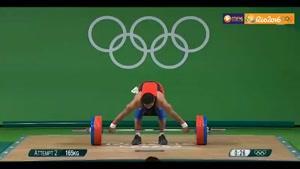 شکسته شدن رکورد وزنهبرداری جهان و المپیک در ۷۷کیلوگرم
