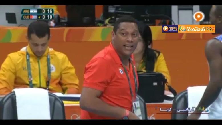 خلاصه والیبال آرژانتین ۳-۰ کوبا