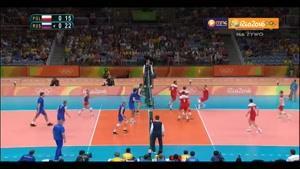 خلاصه والیبال روسیه ۳-۲ لهستان