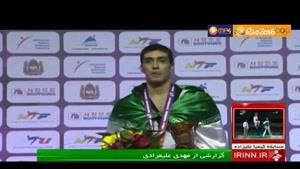 مهدی خدابخشی در المپیک ریو 2016