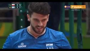 خلاصه والیبال دیدنی لهستان ۳-۰ آرژانتین