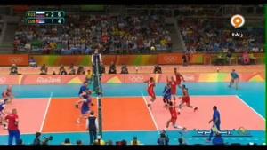 روسیه ۳ - ۱ کوبا - والیبال المپیک ۲۰۱۶ ریو