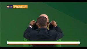 مراسم اهدای مدال طلای سهراب مرادی