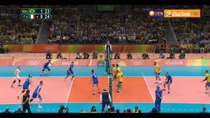 خلاصه والیبال برزیل ۱-۳ ایتالیا
