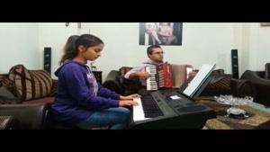 کامران حیدری مدرس آکوردئون و پیانو ایرانی
