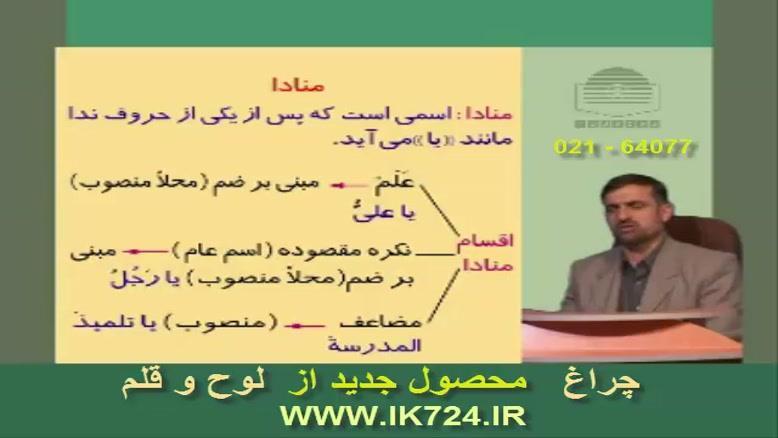 آموزش زبان عربی ( تدریس : منادا )
