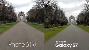 تست دوربین گوشی Samsung Galaxy S۷ vs iPhone ۶s