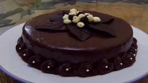 تزیینات مختلف شکلات روی کیک