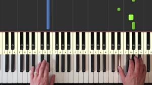 آموزش پیانو - آهنگ Coldplay - Clocks