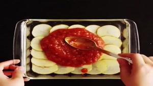 تزیین خوراک سیب زمینی