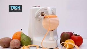 فیلم/ دستگاهی که پوست میوه را ظرف چند ثانیه می گیرد