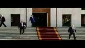مراسم بدرقه رییس جمهور در سفر به باکو