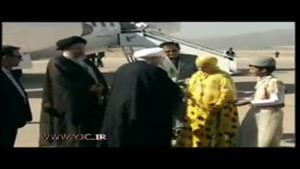 استقبال رسمی از رئیس جمهور کشورمان در یاسوج
