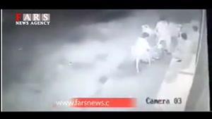 تفریح صهیونیستها با بمب انداختن کنار فلسطینیها