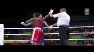 حرکات موزون بوکسور و مربیان کنیا پس از پیروزی در ریو