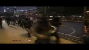 آتش زدن پرچم برزیل همزمان با افتتاحیه المپیک در ریو