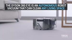 فیلم/ روبات هوشمند جاروبرقی