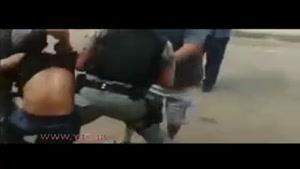 کشتن پلیس به دست یک قاچاقچی هنگام دستگیری
