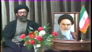 پیام تلویزیونی به مناسبت بیست و دوم بهمن در سال ۶۱