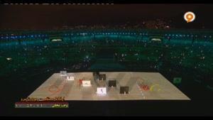 بخش هایی از آیین افتتاح پار المپیک ریو 2016