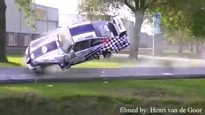 بدترین تصادف رالی