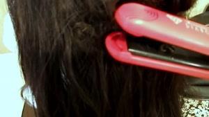 چند روش برای فرکردن مو