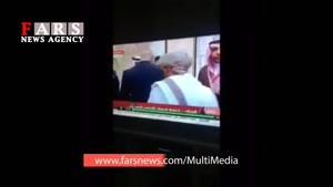 دست ندادن مرد یمنی با پادشاه عربستان!