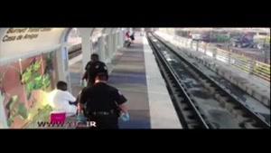 ضرب و شتم یک مسافر به دست پلیس در ایستگاه مترو