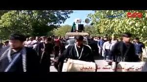 فیلم/ برگزاری آئین کهن مذهبی «جمعه جار» در دلیجان