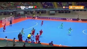 فوتسال پرتغال ۳-۲ آذربایجان (جام جهانی)