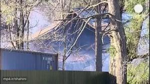 بر اثر آتش سوزی در بیمارستان روانی در روسیه ۳۸ نفر...