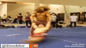 این وحشی بازیه یا تمرین ورزشی؟؟؟؟؟؟