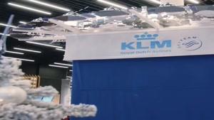 ابتکار جالب ایرلاین KLM برای مسافرینی که پروازشان به تاخیر افتاد