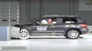صحنه آهسته تست تصادف Mercedes Benz GLK