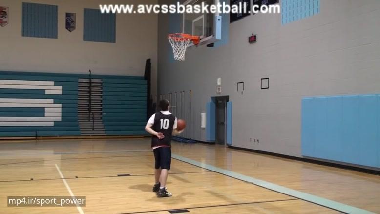 تکنیک های جالب در بسکتبال