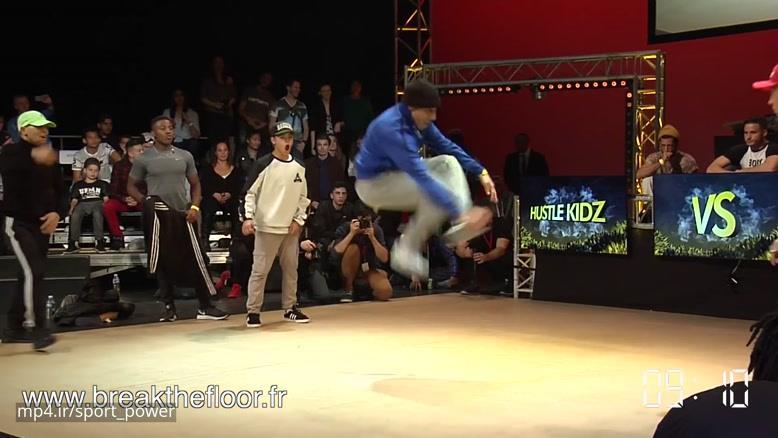 Break The Floor 2016   final battle Jinjo VS Hustle Kidz