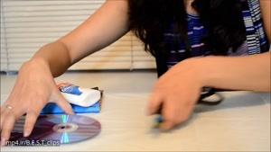 ساخت قاب عکس با استفاده از cd